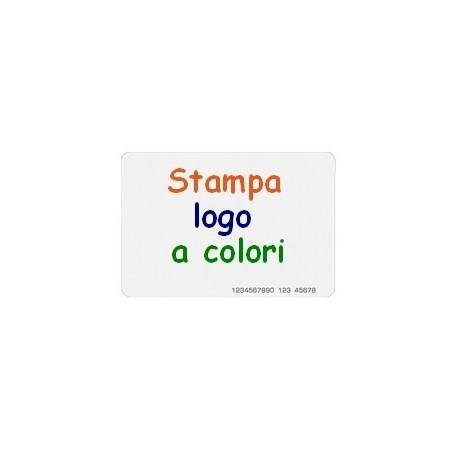 kit 20 Tessere RFID con stampa a colori su singola faccia