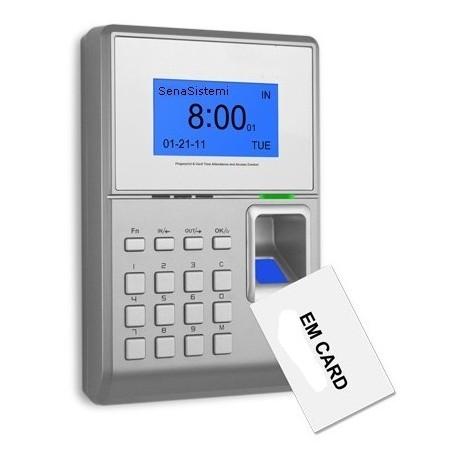 S550 Rilevatore Presenze e Controllo Accessi Biometrico e RFID