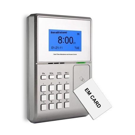 S500 Rilevatore Presenze e Controllo Accessi con Lettore Tessere RFID