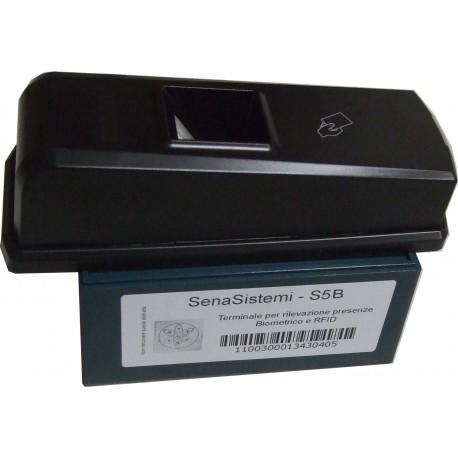 S5-Box Rilevatore di Presenze Portatile con Lettore Card RFID ed Impronta Digitale
