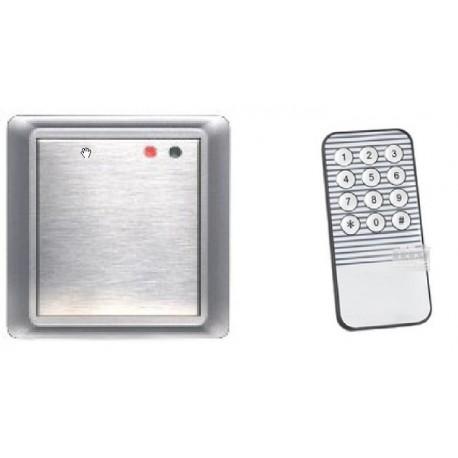 S106 Controllo Accessi RFID con telecomando per uso interno