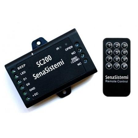 SC200 Modulo relè apriporta con memoria per sistemi RFID Wiegand