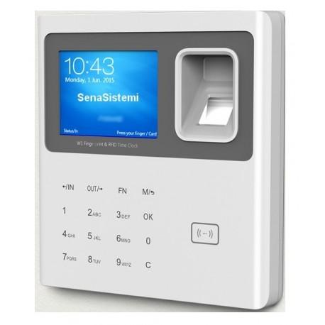 SW1 Rilevatore Presenze Biometrico e RFID con webserver integrato
