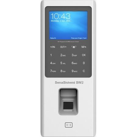 SW2 Rilevatore Presenze e Controllo Accessi Biometrico e RFID con webserver integrato